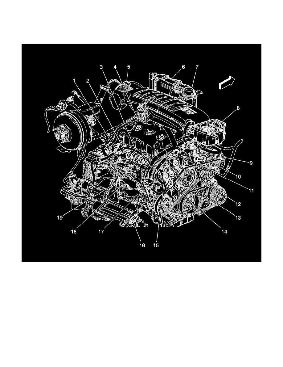 97 Chevy Engine Diagram 3 1 Liter Wiring Library For 2 V6 Chevrolet Workshop Manuals U003e Traverse Fwd 6l 2009 Distributor