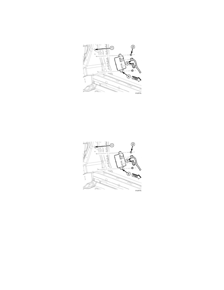 Relayodules Body And Frame Convertible Top Control Module Component Information Service Repair Folding
