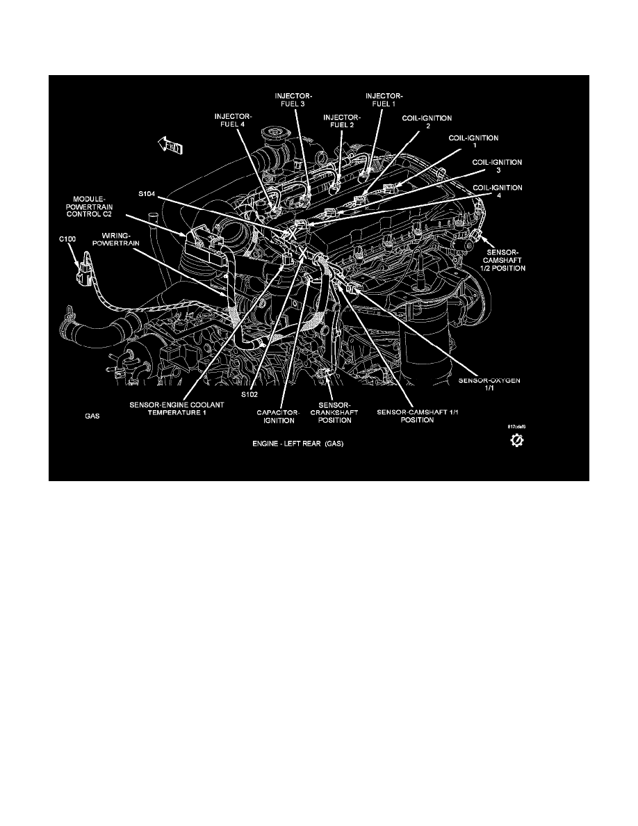 2007 Dodge Caliber Cylinder Diagram Electrical Wiring Diagrams 2009 Kia Rio Engine Workshop Manuals U003e L4 2 0l Vin B Powertrain