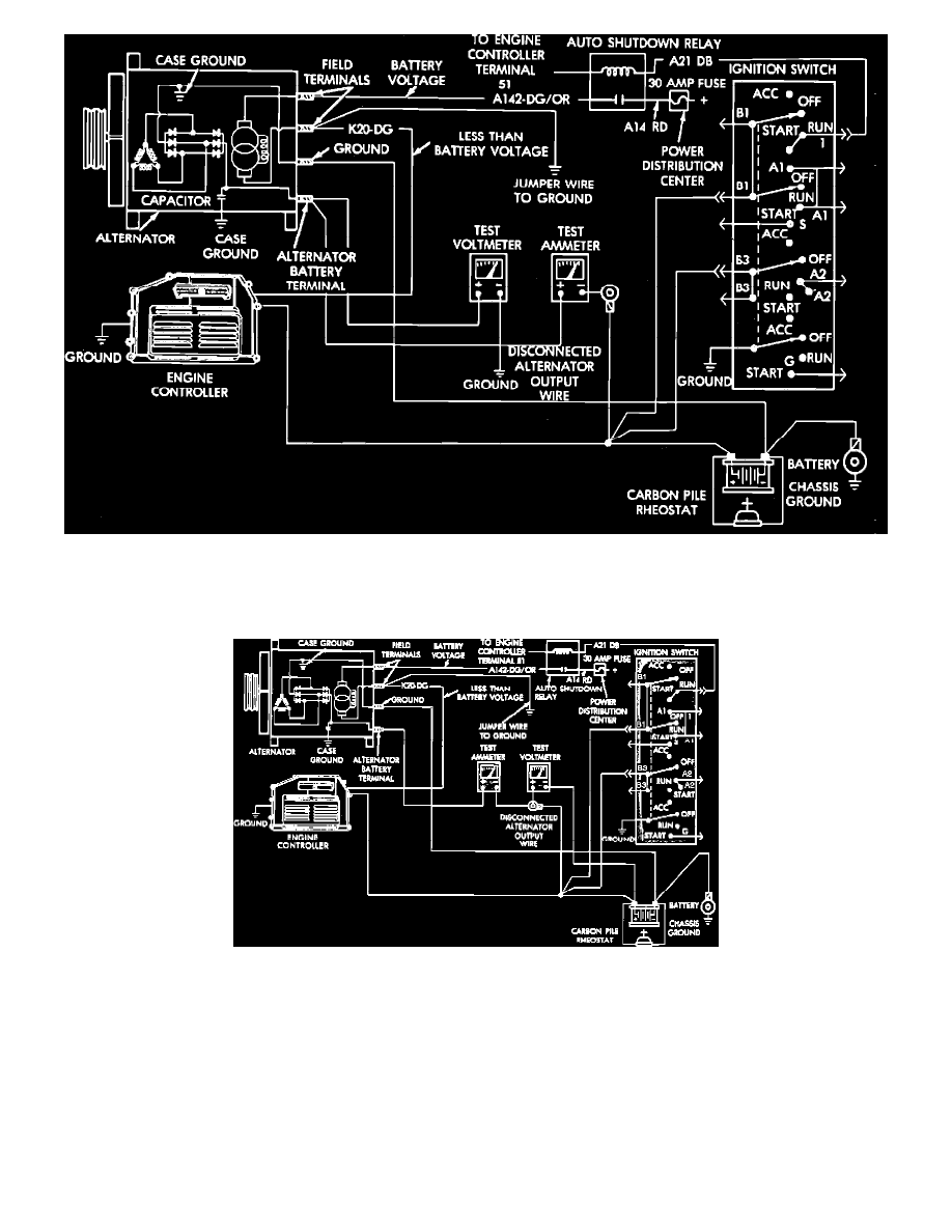 Nippondenso Alternator Wiring Diagram Dodge Caraven Alternators On