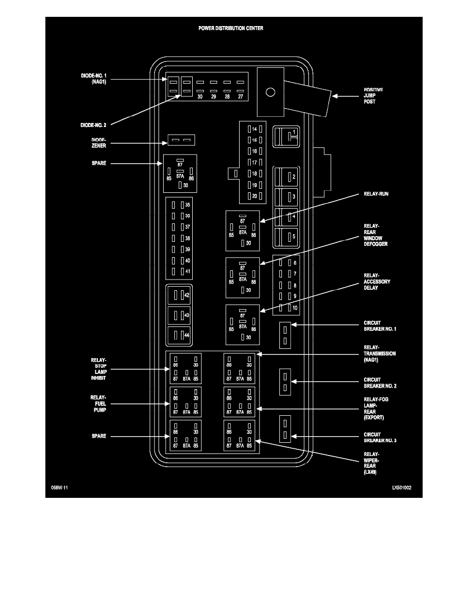 Relays and Modules > Relays and Modules - Accessories and Optional  Equipment > Accessory Delay Module > Accessory Delay Relay > Component  Information > ...