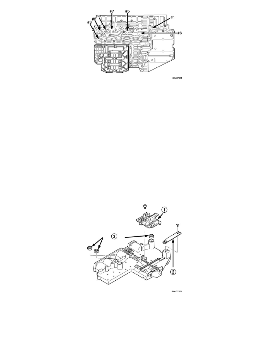 4r100 Valve Check Ball Location Engine Diagram And