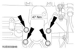 Exhaust manifold besides RepairGuideContent besides Gearshift cables additionally Engine as well Fswerks Crank Underdrive Pulley Ford Focus Zetec. on 2002 ford focus exhaust heat shield