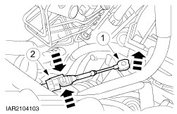 Electrical Wire Splice Connectors in addition Engine together with RepairGuideContent moreover Engine vehicles with automatic transaxle in addition Car Battery Terminal Extension. on battery quick disconnect connectors