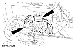 ford workshop manuals > galaxy  connect the engine wiring harness and the engine coolant level sensor electrical connectors