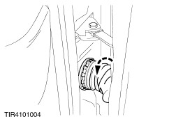 ford workshop manuals > galaxy 2000 75 04 2000 02 2006 disconnect the right hand and left hand front and rear door wiring harness electrical connectors from the main wiring harness left hand side shown
