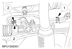 Cautionmake Sure That The Pressure Check Valve Does Not Fall Out Of The Valve Body High Pressure Port When Removing The Steering Gear Power Steering Pipe