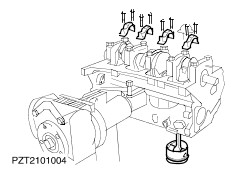 e engine diagram motorcycle schematic images of e engine diagram cautionthe bolts of the main and big end bearings must