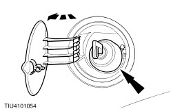 Open The Fuel Filler Flap And Remove The Filler Cap