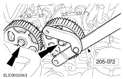 401186880122 additionally How To Replace Timing Chain On Audi A4 B8 32 Fsi Quattro 141f3f6b0bc606a3 additionally How To Replace Timing Chain On Ford Focus 2 0 Tdci 2004 2011 besides 3 3l V6 Nissan Pathfinder Engine Diagram besides 3is44 92 Ford Ranger 2 3l Just Stopped Light When Tried. on ford 4 6 cam timing marks