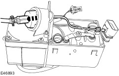 Brake pressure hose front left or right replace besides Booster heater in addition Have To Remove Transmission To Replace as well Replace instrument panel padding  plete moreover Parts Department Training. on wiring harness openings