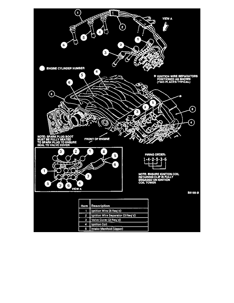 Ford Contour Coil Diagram Electrical Schematics 2000 Turn Signal Wiring Workshop Manuals U003e V6 153 2 5l Dohc 1996 Powertrain Calc 3