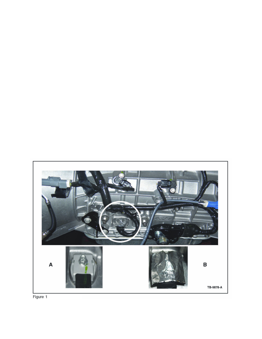 Transmission and Drivetrain > Automatic Transmission/Transaxle > Wiring  Harness, A/T > Component Information > Technical Service Bulletins >  Customer ...