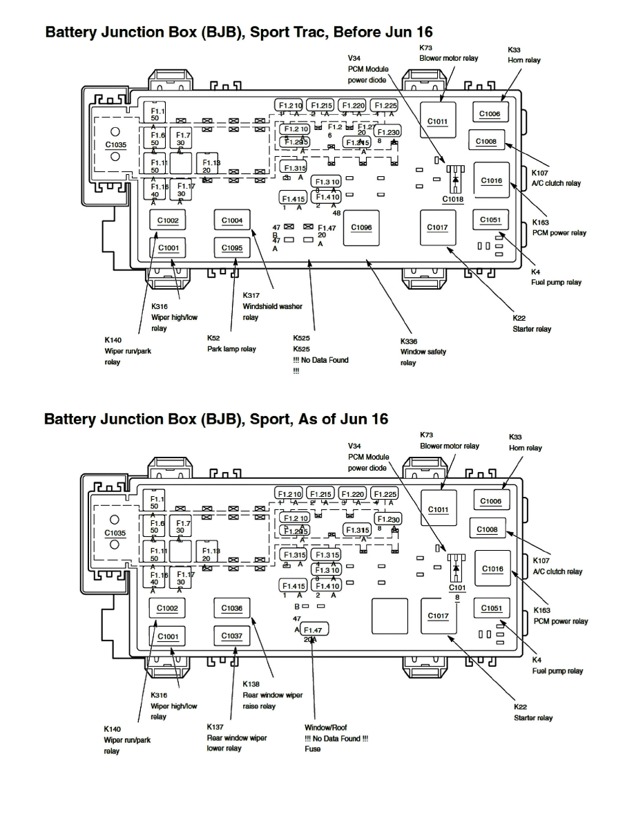 Page 2188002 ford explorer sport trac fuse box diagram wiring diagram simonand 2003 Ford Explorer Fuse Manual at gsmx.co