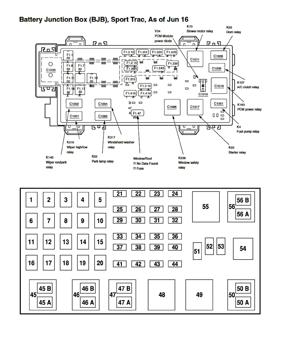 Page 2265003 wiring diagram for 2003 ford explorer the wiring diagram fuse box diagram 2005 ford explorer sport trac at panicattacktreatment.co