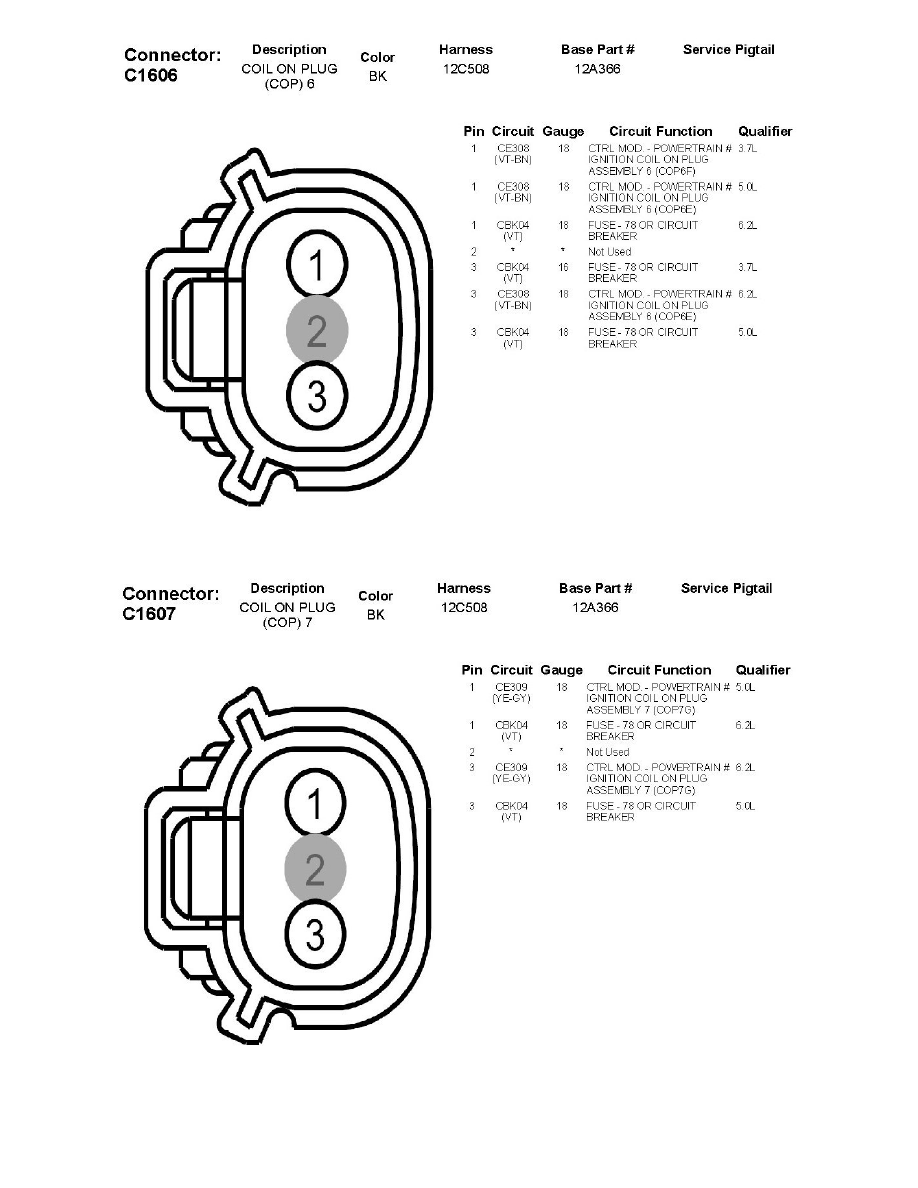 F150 Ignition Coil Diagram Real Wiring 86 Chevy S10 Ford Workshop Manuals U003e F 150 2wd V8 5 0l 2011 Powertrain Rh Com 2003 2004