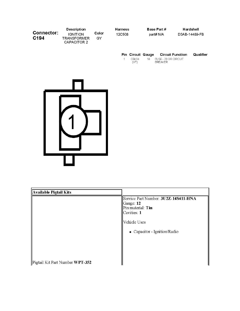 ford electronic ignition wiring diagram circuit and   page