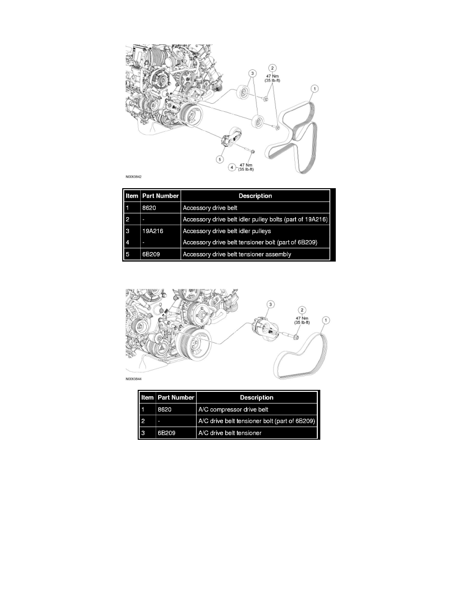 maintenance > drive belt > component information > service and repair >  front end accessory drive (fead) - exploded view > page 1504