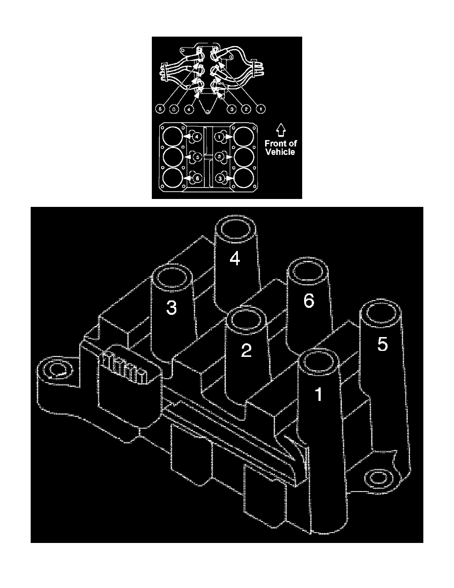 Page 1145001 ford workshop manuals \u003e freestar v6 4 2l vin 2 (2004) \u003e engine 2004 ford freestar spark plug wire diagram at gsmx.co