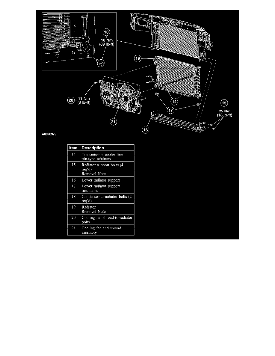 Ford Workshop Manuals Freestar V6 42l Vin 2 2004 Engine 05 Blower Wiring Diagrams Cooling And Exhaust System Radiator Fan Clutch Component Information Service Repair Page 3651