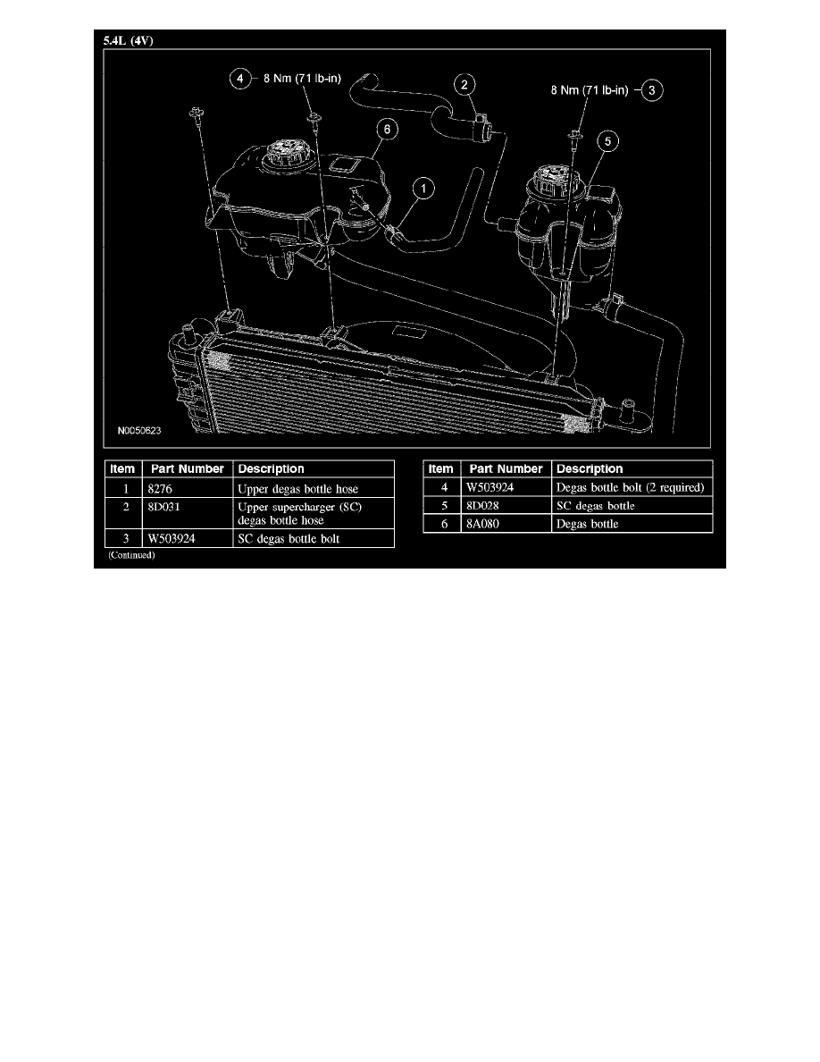 Ford Workshop Manuals Mustang V6 40l 2008 Engine Cooling And 4 6 Diagram Exhaust System Radiator Fan Motor Component Information Diagrams Page 1804
