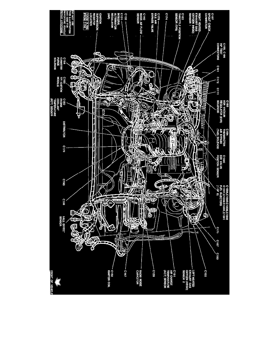 Engine, Cooling and Exhaust > Engine > Tune-up and Engine Performance  Checks > Ignition Timing > Ignition Timing Connector > Component  Information > ...