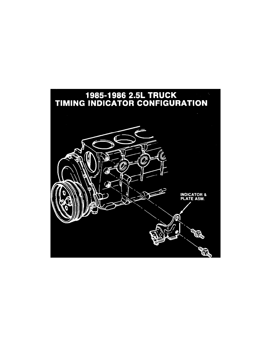 Powertrain Management > Ignition System > Ignition Timing > Timing Marks  and Indicators > System Information > Technical Service Bulletins >  Ignition ...