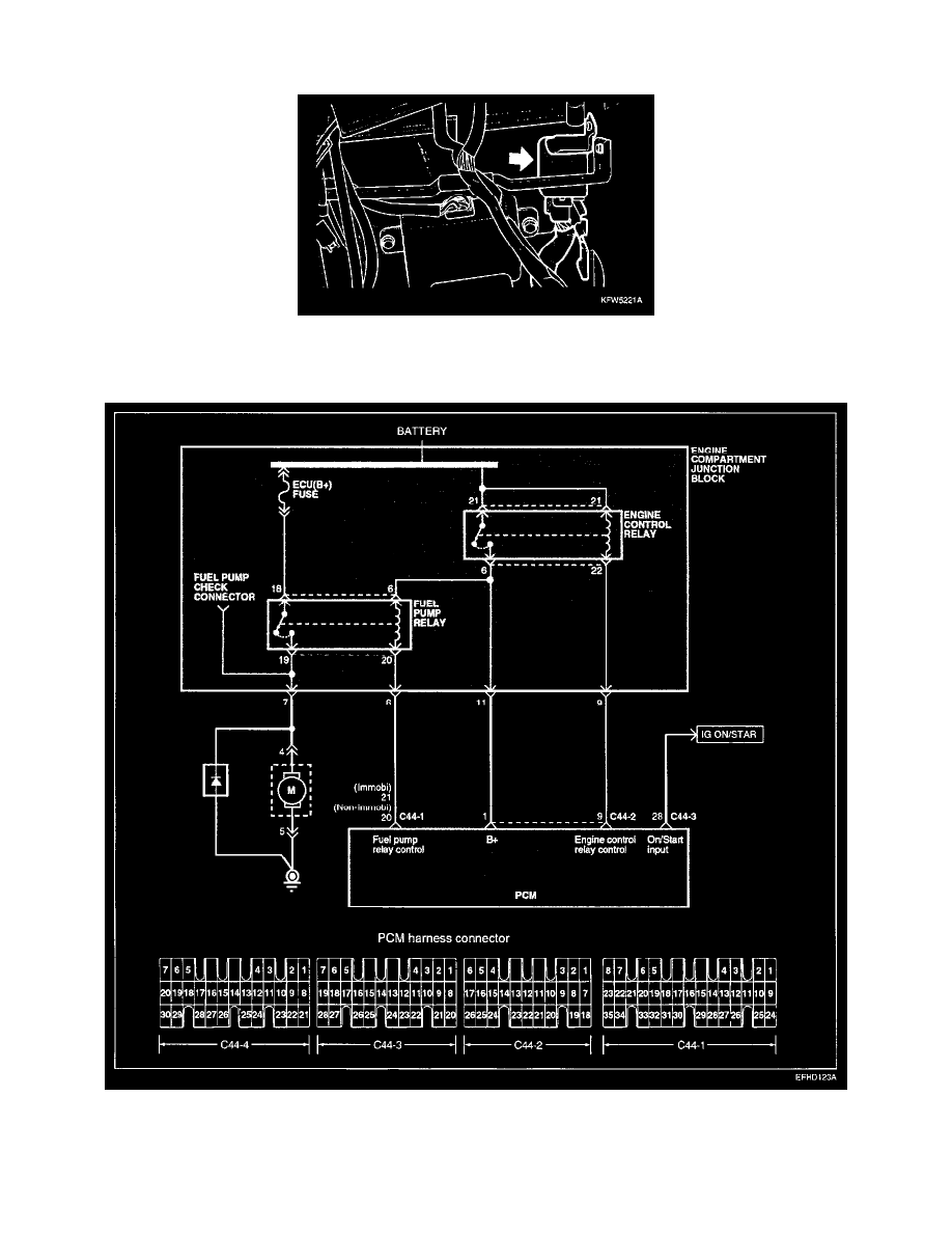 2004 3 5l Hyundai Engine Diagram Electrical Wiring Diagrams 350z Workshop Manuals U003e Santa Fe V6 Relays And Nissan 35l