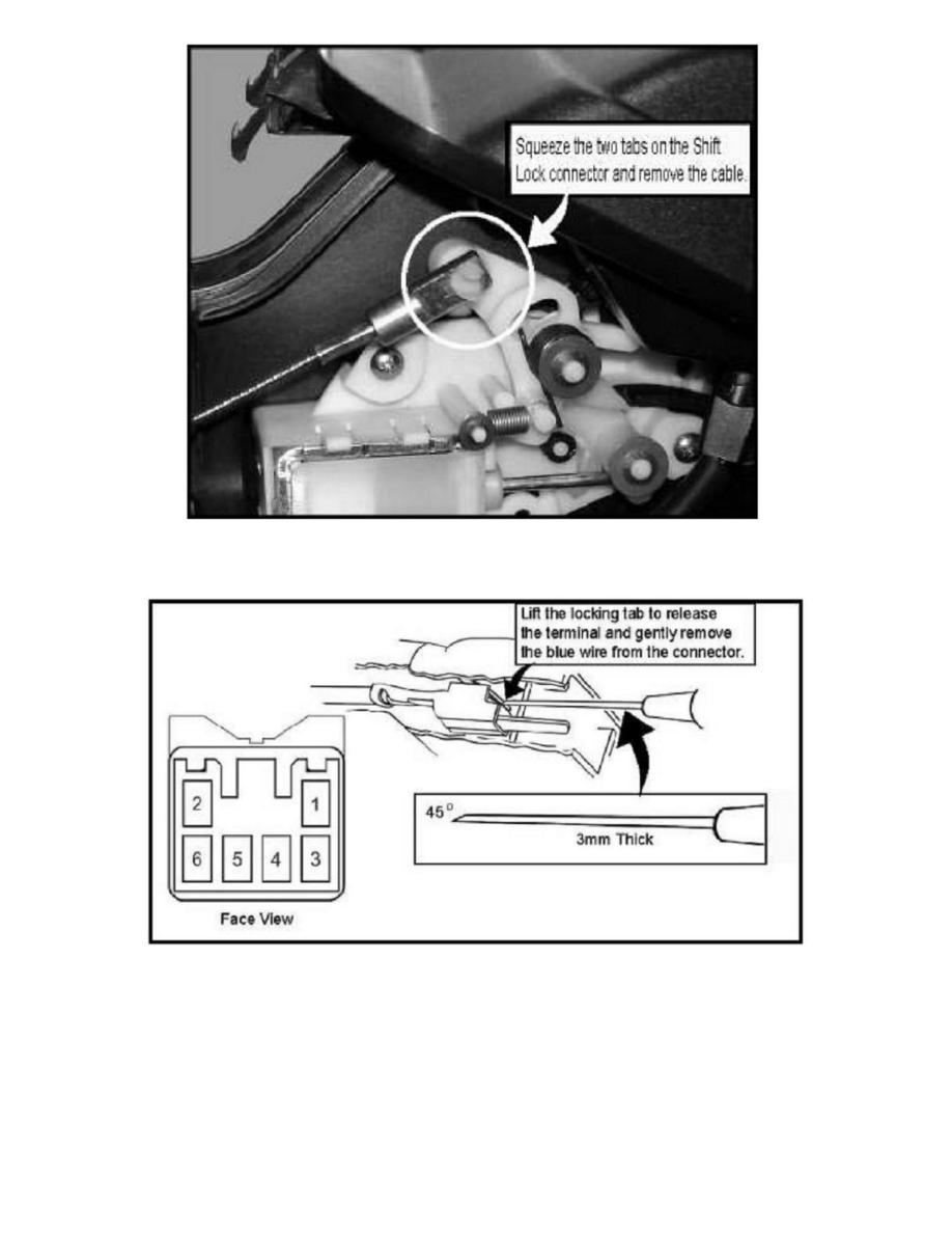 Isuzu Rodeo Shift Wiring Schematics Diagram Trans 2000 Trooper Workshop Manuals U003e Sport 2wd V6 3 2l 2001 1999 1998