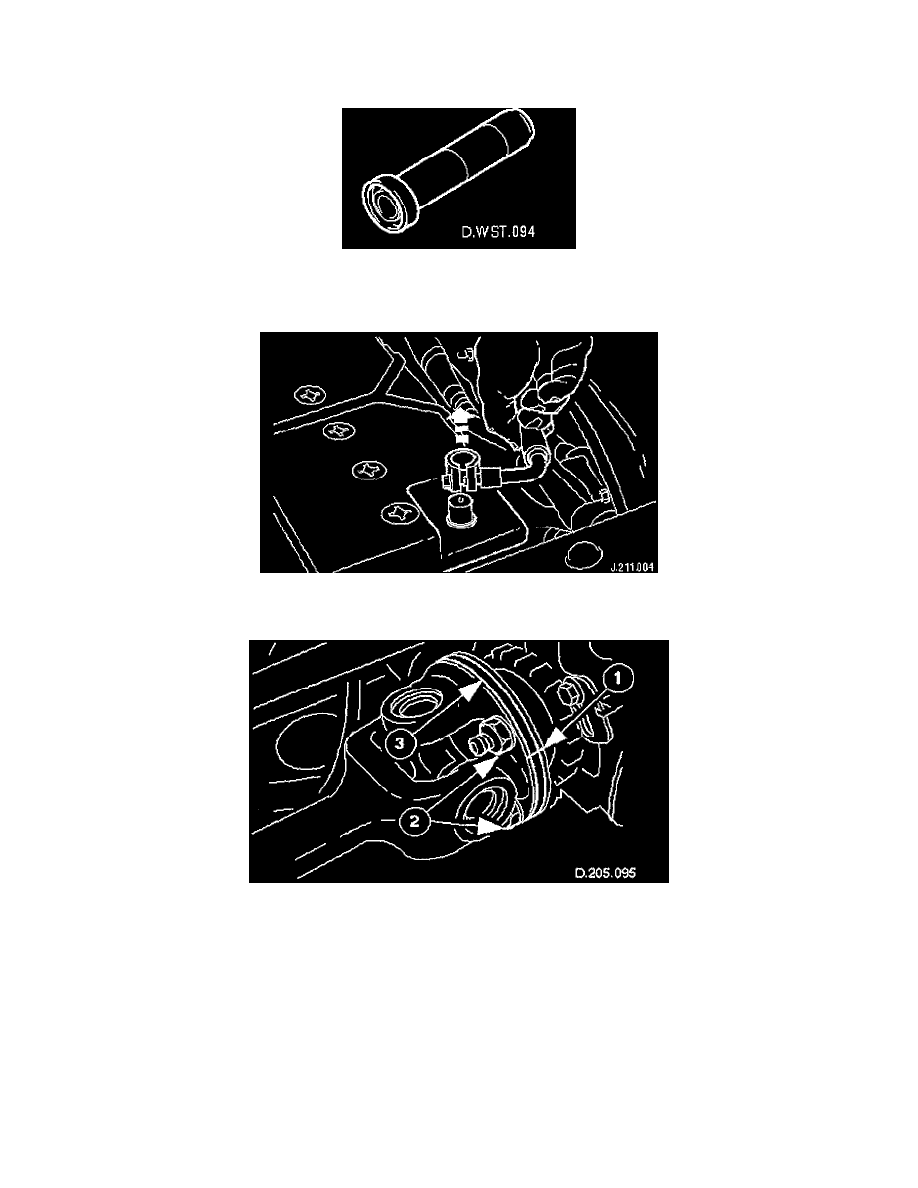 Transmission and Drivetrain > Differential Assembly > Output Shaft,  Differential > Differential Output Shaft Bearing > Component Information >  Service and ...