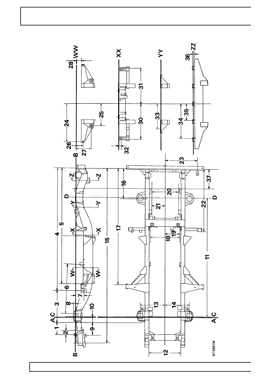 land rover body schematics