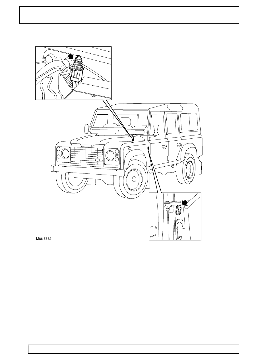 Land Rover Defender Alarm Wiring Diagram Library Electrical Anti Theft From 02my Page 745 Workshop Manuals Td5
