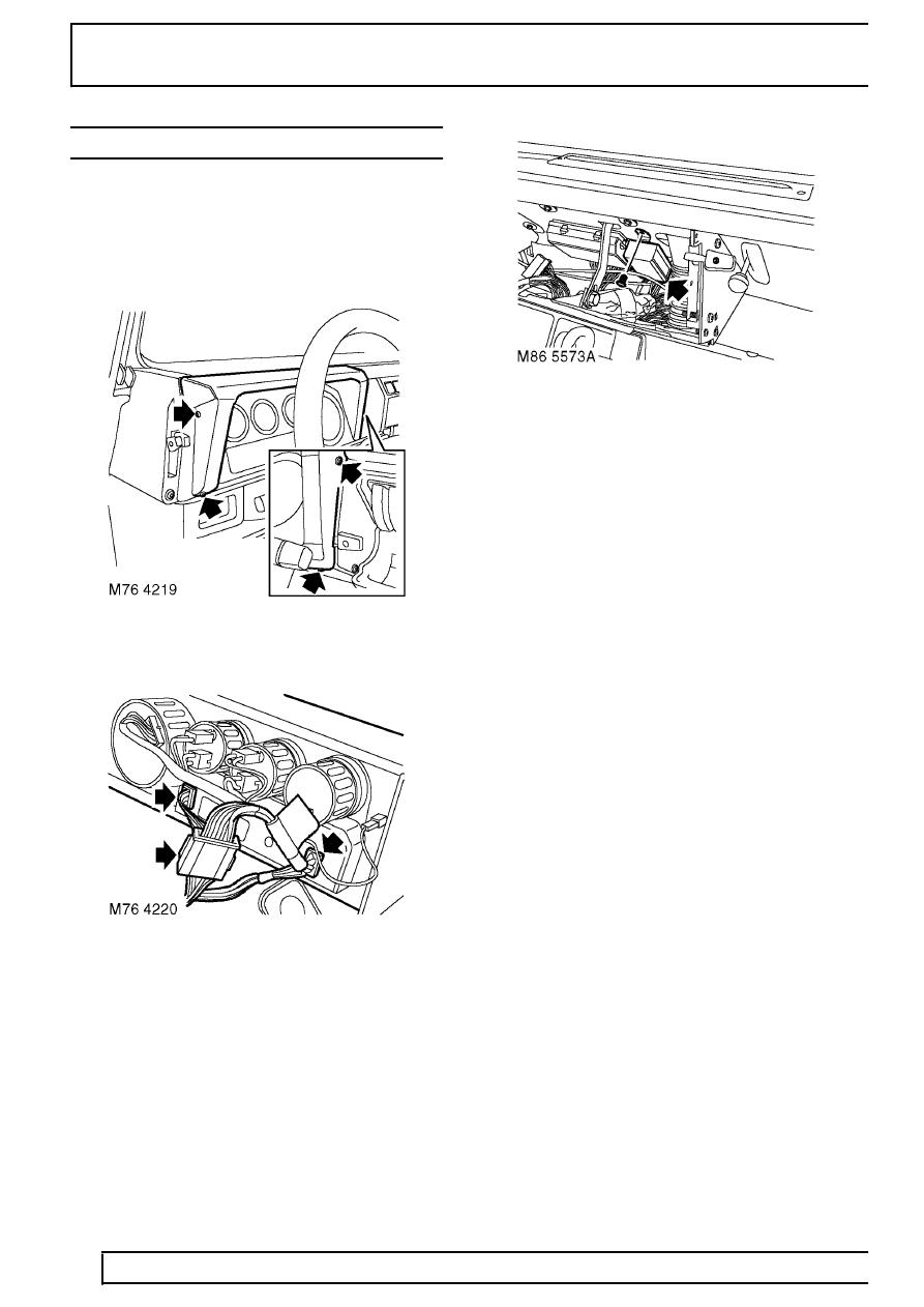 land rover workshop manuals  u0026gt  td5 defender  u0026gt  electrical