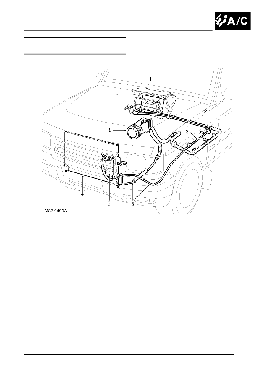 Land Rover Discovery Air Conditioner Schematic Reinvent Your 1999 Engine Diagram Workshop Manuals U003e Ii Conditioning Rh Com 1995 Series