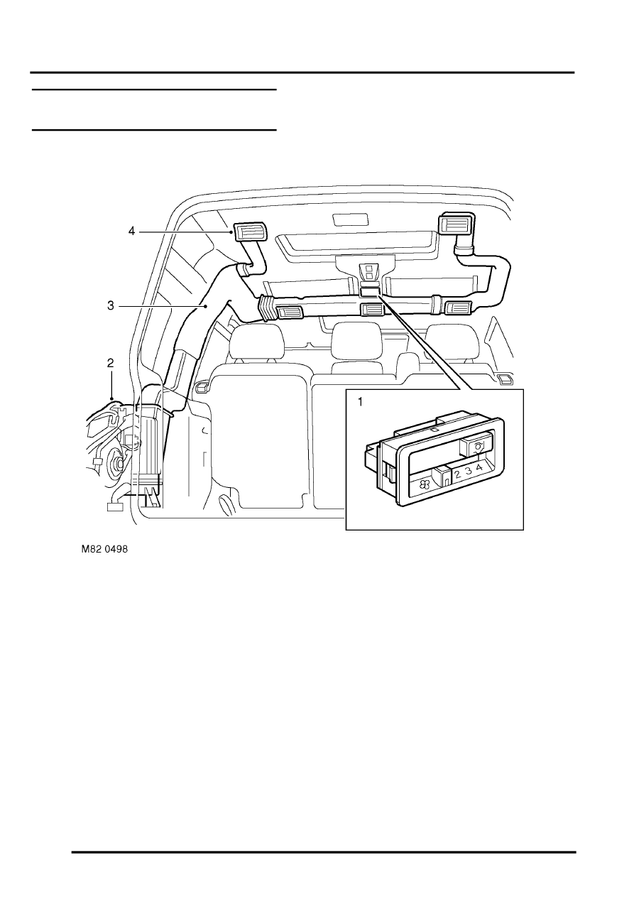 Land Rover Discovery Air Conditioner Schematic Reinvent Your 1999 Engine Diagram Workshop Manuals U003e Ii Conditioning Rh Com Coolant Hose