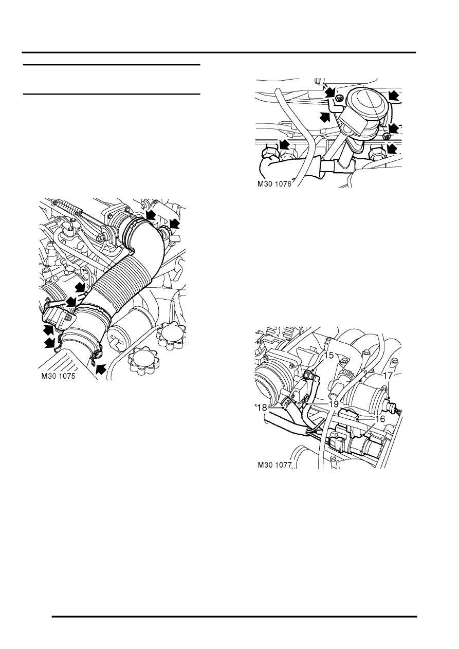 land rover workshop manuals  u0026gt  discovery ii  u0026gt  manifolds and
