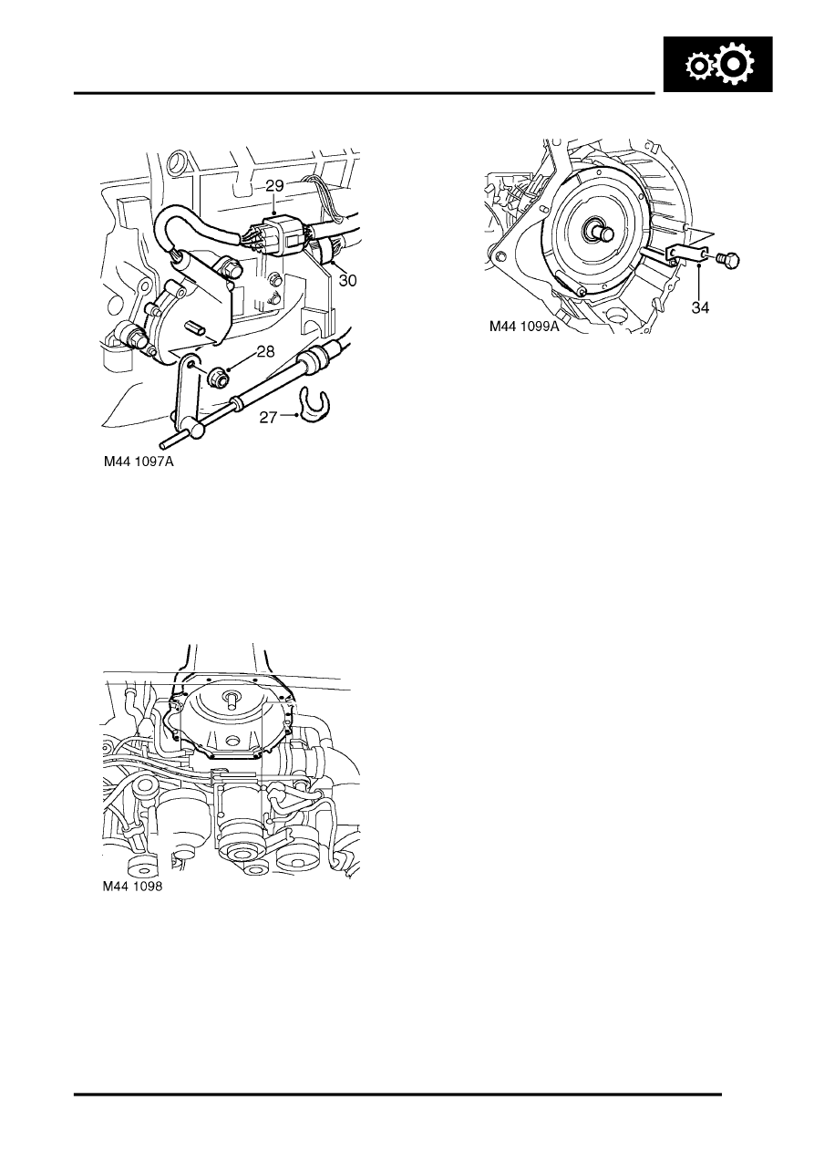AUTOMATIC GEARBOX - ZF4HP22 - 24 > REPAIRS > Gearbox - convertor and  transfer gearbox - V8 > Page 747