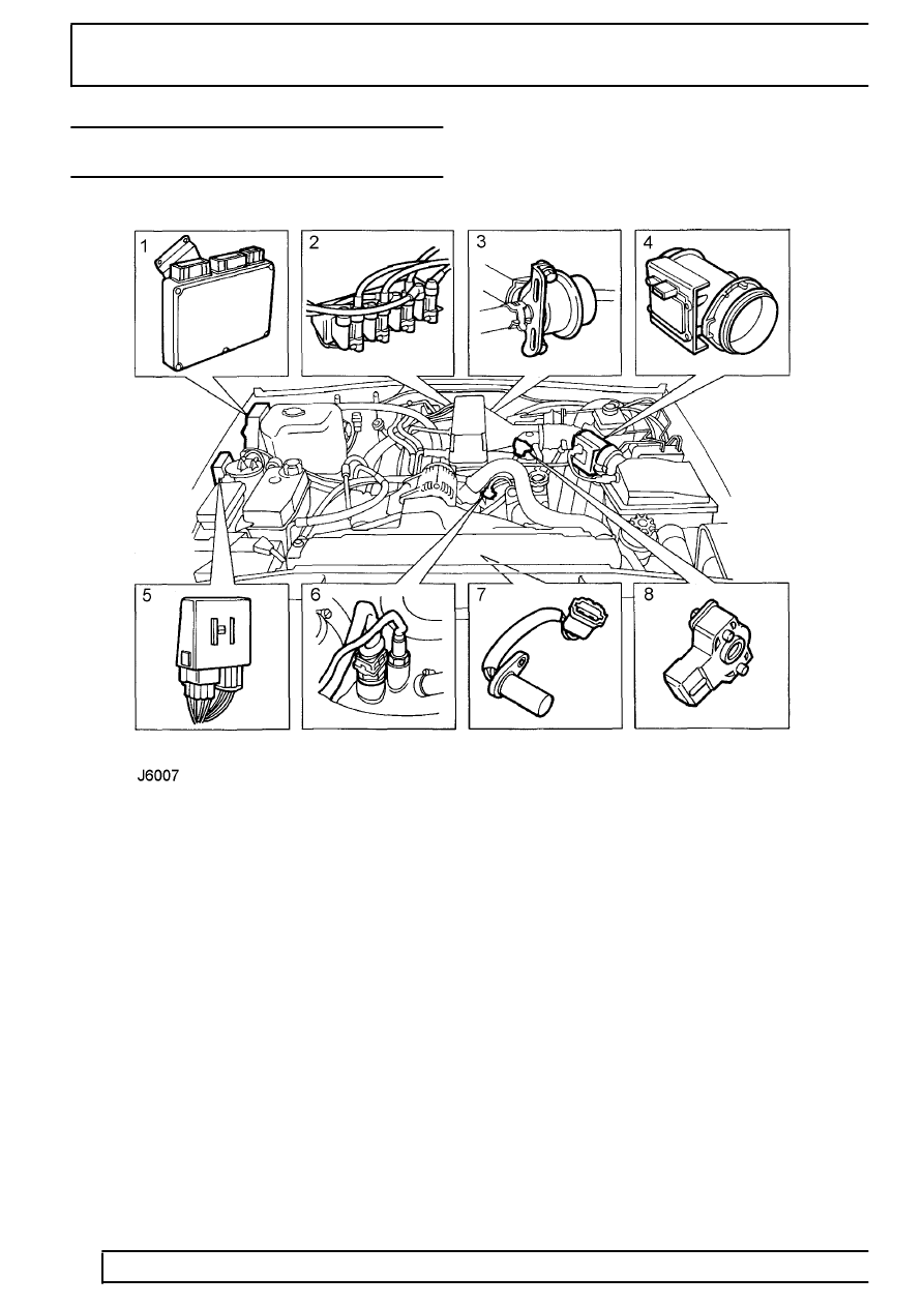 land rover discovery knock sensor location