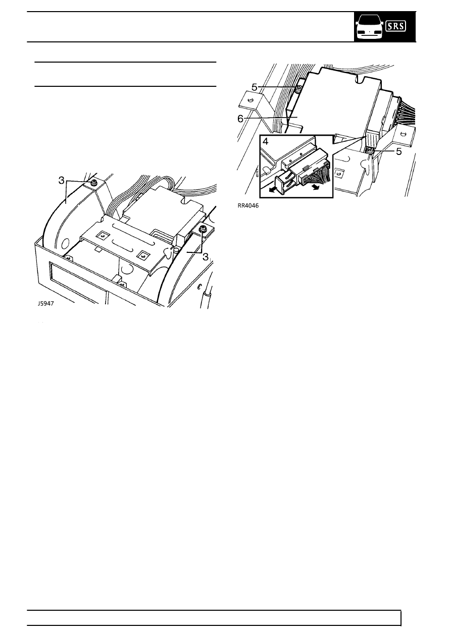service manual  passenger side airbag removal on a 2003