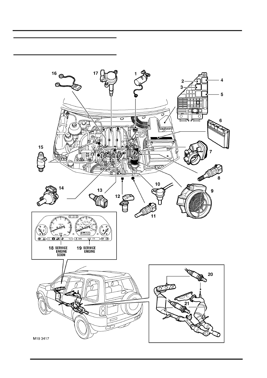 land rover discovery hose diagram