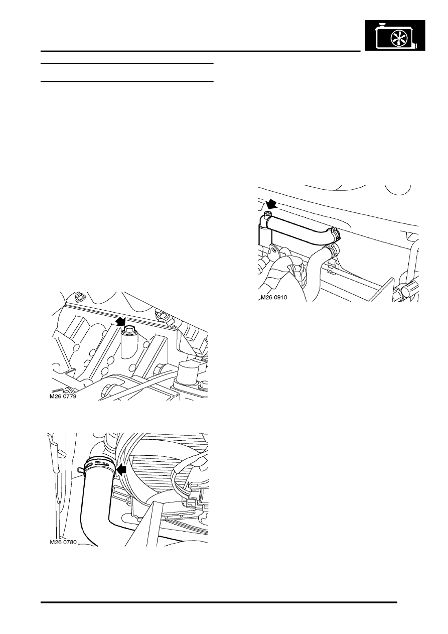 Land Rover Coolant Diagram Workshop Manuals Freelander Service Flow 893x1263