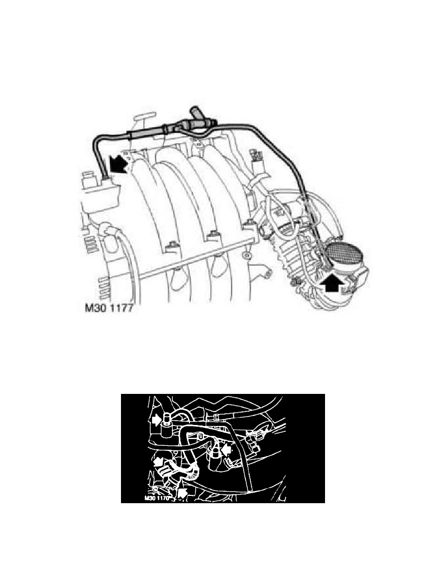 [DIAGRAM_5FD]  Land Rover Workshop Manuals > Freelander (LN) V6-2.5L (2004) > Engine,  Cooling and Exhaust > Engine > Intake Manifold > Component Information >  Diagrams > Page 1493 | 2004 Land Rover Freelander Engine Diagram |  | Workshop Manuals