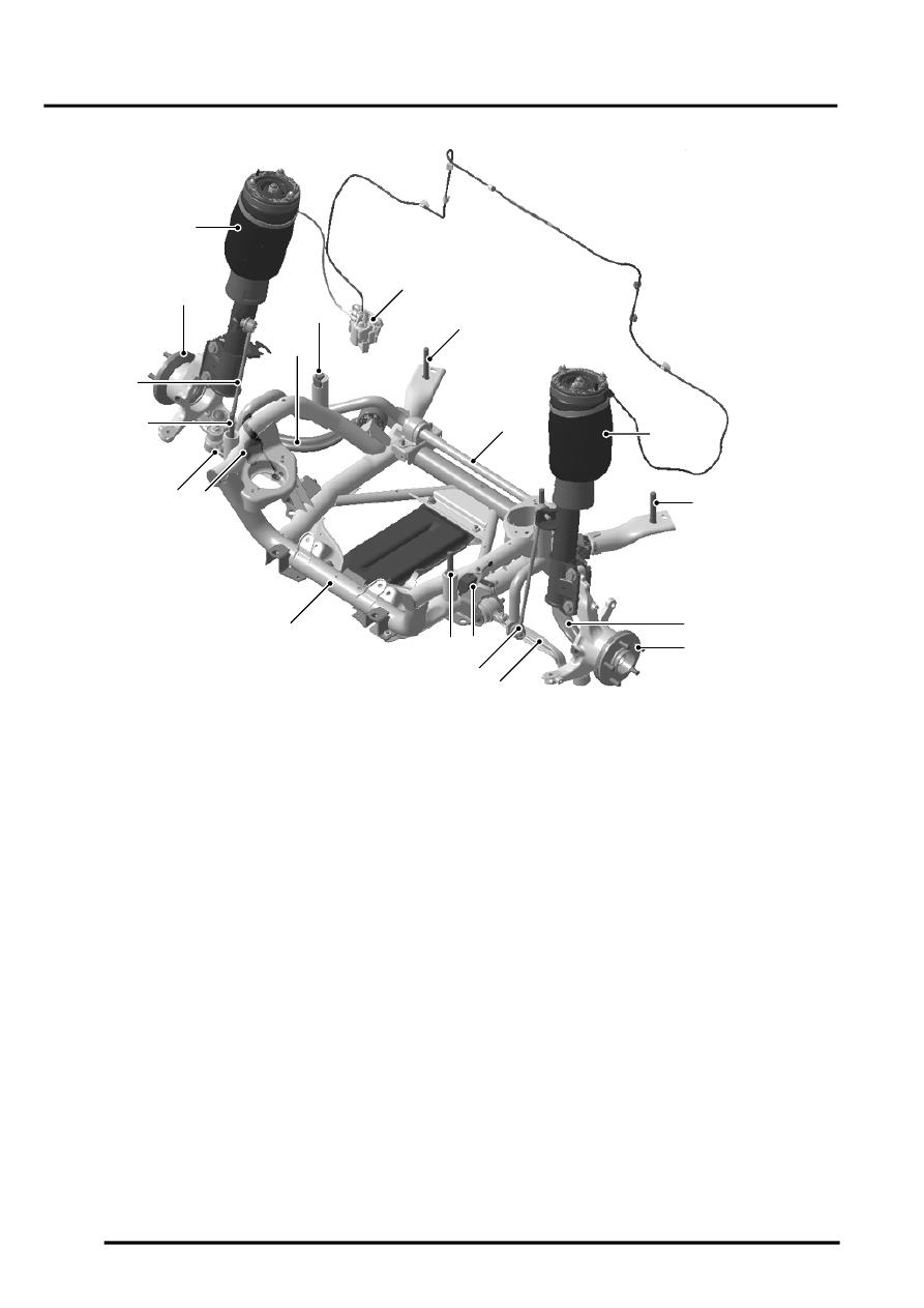 Land Rover Workshop Manuals  U0026gt  L322 Range Rover System Description And Operation  U0026gt  Suspension