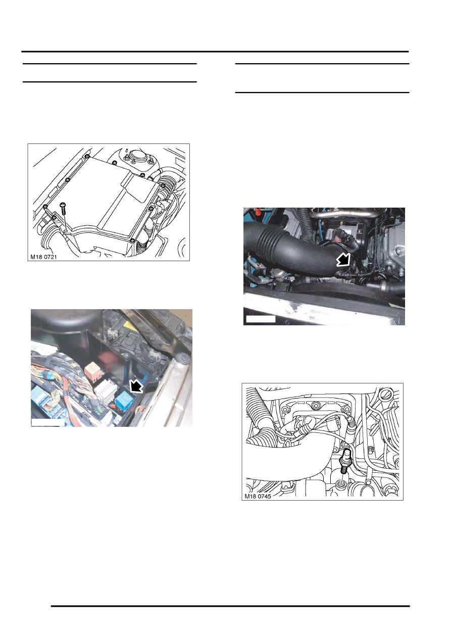 ENGINE MANAGEMENT SYSTEM - V8 > REPAIRS > Sensor - engine coolant  temperature (ECT)