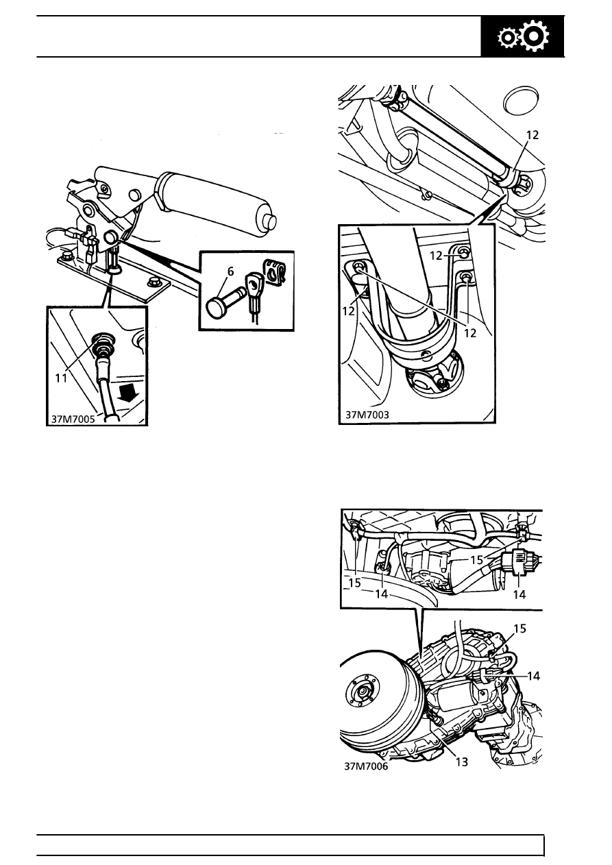 37 - MANUAL GEARBOX - R380 GEARBOX > REPAIR > SELECTOR REMOTE HOUSING >  Page 701