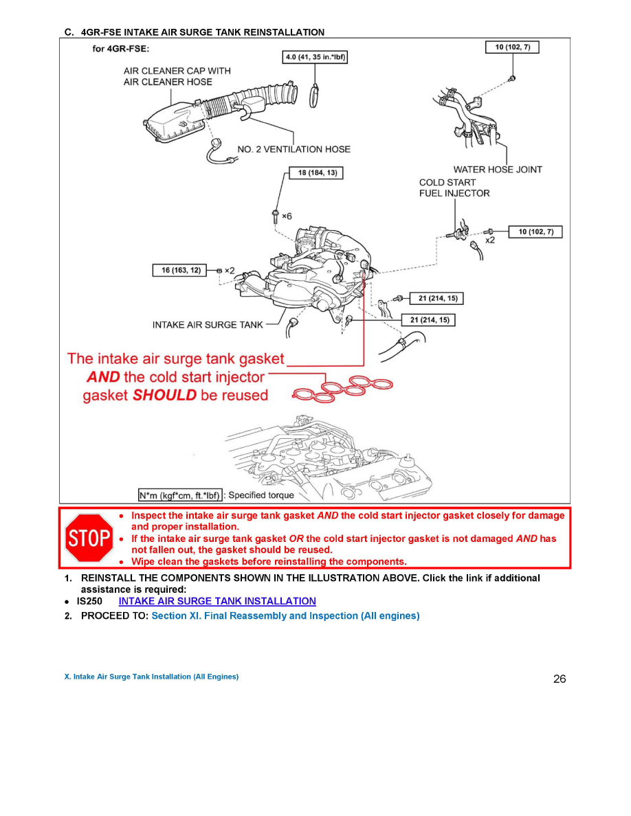 Lexus Fuel Pressure Diagram Opinions About Wiring Engine Diagrams Workshop Manuals U003e Gs 300 Rwd V6 3 0l 3gr Fse 2006 Rh