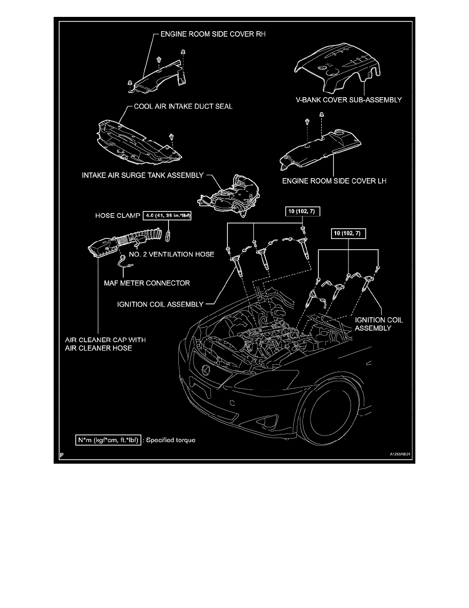 Ignition System Diagram Lexus About Wiring Ford Workshop Manuals U003e Is 250 Rwd V6 2 5l 4gr Fse 2007