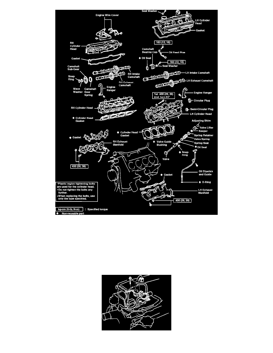 Engine, Cooling and Exhaust > Engine > Camshaft, Lifters and Push Rods >  Camshaft, Engine > Component Information > Service and Repair > Removal >  Page 830