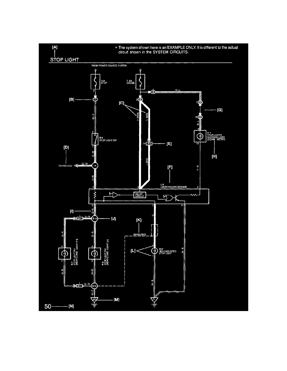 [CSDW_4250]   Lexus Workshop Manuals > LS 430 V8-4.3L (3UZ-FE) (2002) > Transmission and  Drivetrain > Automatic Transmission/Transaxle > Lamps and Indicators - A/T  > Transmission Mode Indicator - A/T > Component Information > Diagrams >  Diagram Information and ... | Lexus Transmission Diagrams |  | Workshop Manuals