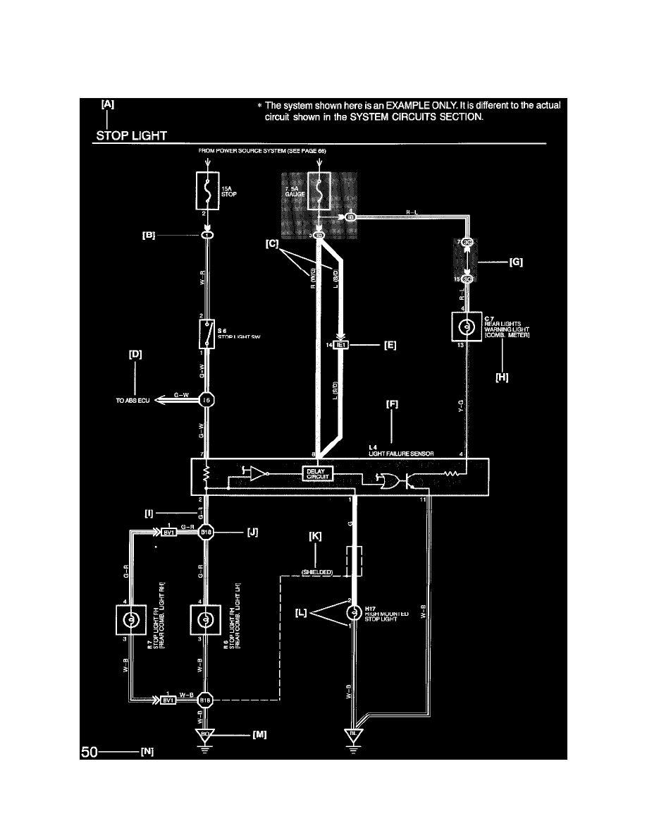 Lexus Alarm Wiring Diagram Another Blog About Is200 Amplifier Workshop Manuals U003e Lx 470 V8 4 7l 2uz Fe 1999 Relays And Rh